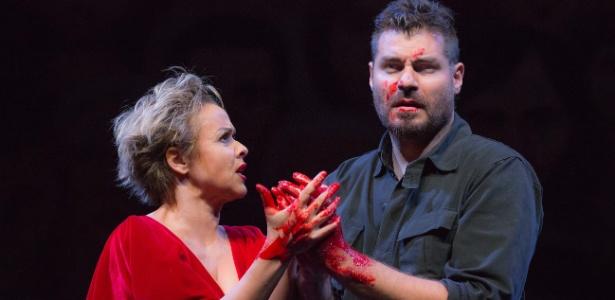 """""""Repertório Shakespeare"""", com Giulia Gam e Thiago Lacerda no elenco, foi indicado aos prêmios Aplauso Brasil e APCA - João Caldas"""