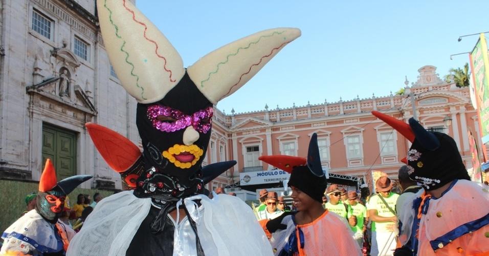 5.fev.2016 - Sem cordas, o Carnaval do circuito Campo Grande busca resgatar a folia de outros tempos