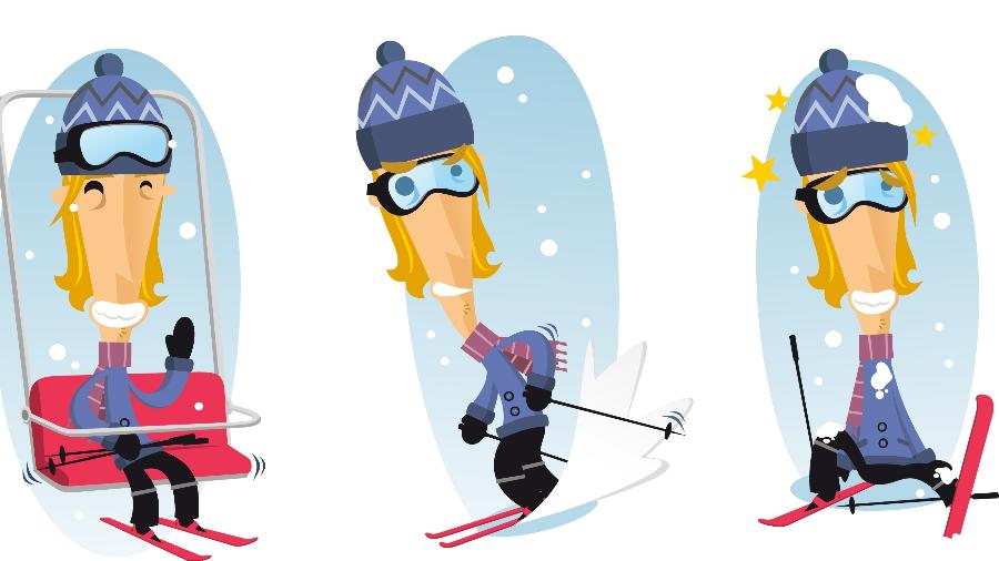 As férias de julho estão quase aí: especialistas ensinam a preparar o corpo para os esportes de neve, como o esqui e o snowboard - iStock
