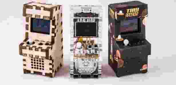 Fliperamas em miniatura foram um projeto de sucesso no Kicksarter - Reprodução