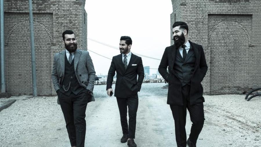 Membros do clube Mr Erbil, no Curdistão (Iraque) - Reprodução/facebook.com/mistererbil