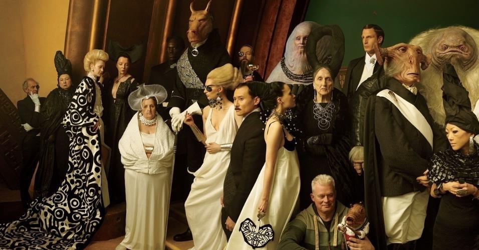 """Annie Leibovitz fez ensaio com o elenco de """"Star Wars"""" para a revista """"Vanity Fair"""""""