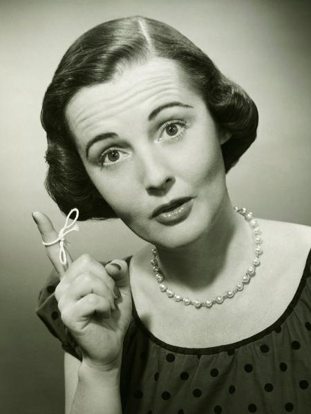 Já colocou uma fita no dedo para se lembrar de algo? - iStock