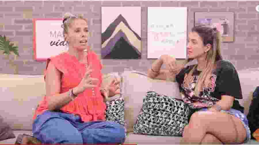 Adriane Galisteu é entrevistada por Gabriela Pugliesi - Reprodução/YouTube