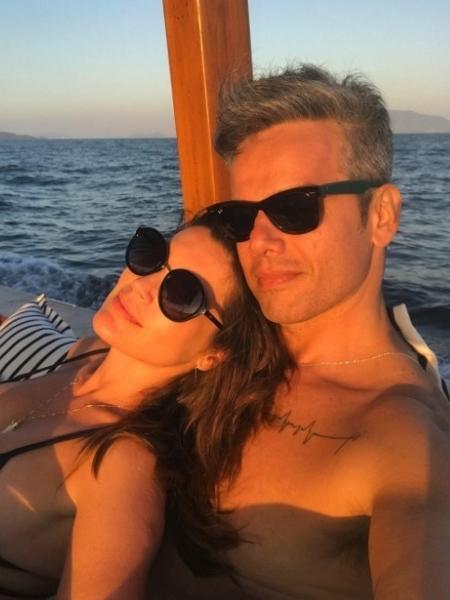 Flávia Alessandra e Otaviano Costa são casados há mais de dez anos e não deixam a relação cair na mesmice - Reprodução/Instagram/flaviaalereal