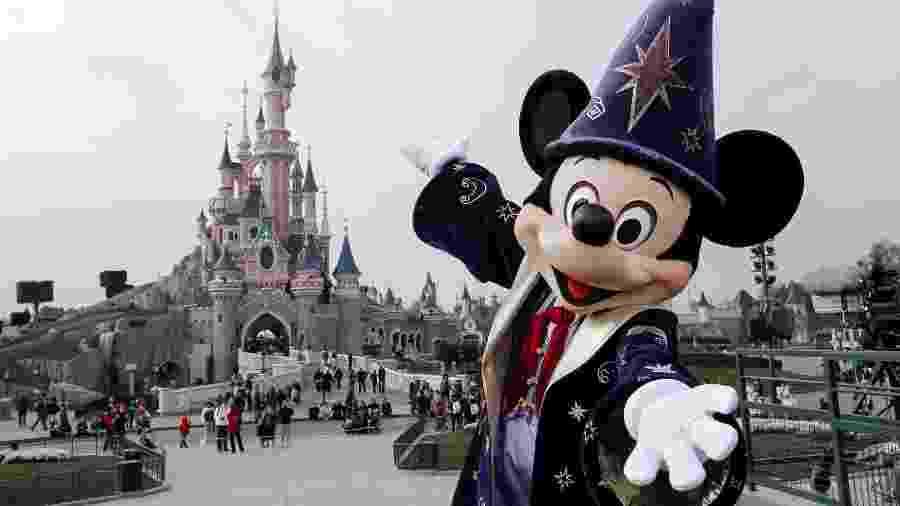 Mickey Mouse, símbolo da The Walt Disney Company  - AFP