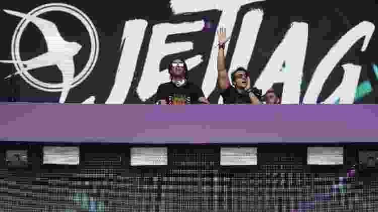 Palcos do Lollapalloza 2018 começam a lotam. JetLag se apresenta  - Ricardo Matsukawa/UOL - Ricardo Matsukawa/UOL