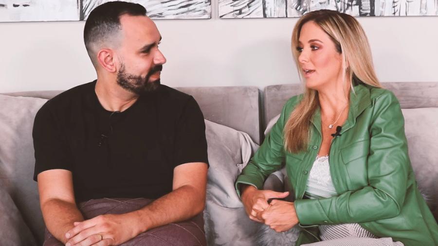 Álvaro Leme entrevista Ticiane Pinheiro - Reprodução/YouTube
