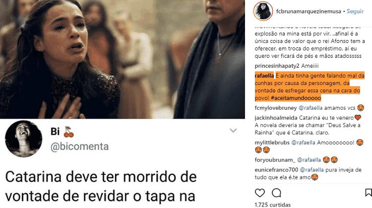 Rafaella, irmã de Neymar, defende Bruna Marquezine - Reprodução/Instagram - Reprodução/Instagram