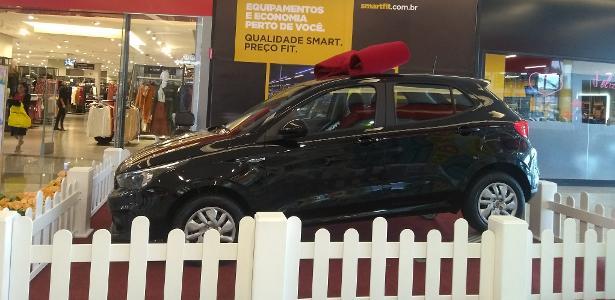 Fiat Argo é um dos carros sendo sorteados por shopping-centers