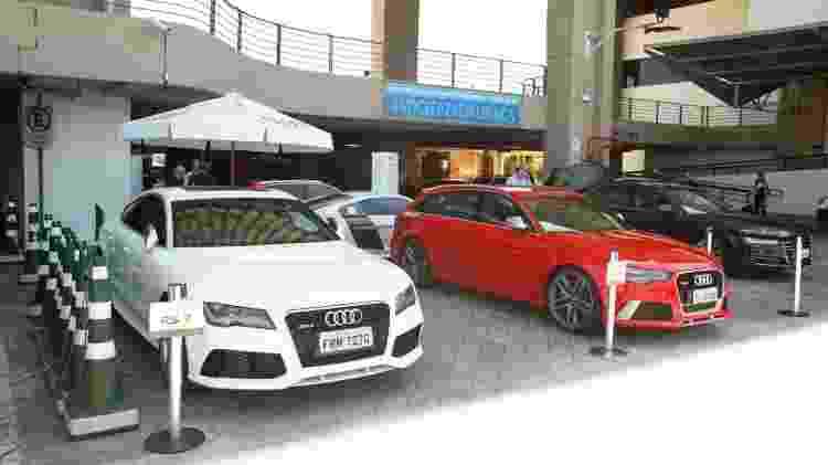 Test-drive da Audi no Salão do Automóvel - Divulgação - Divulgação