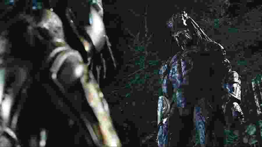 """Cena de """"O Predador"""" - Reprodução"""