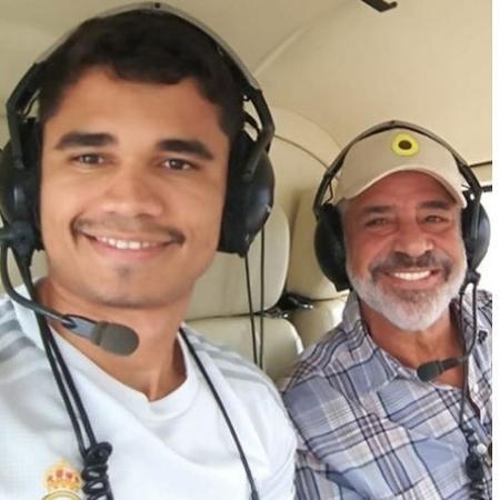 Lulu Santos posta foto ao lado do namorado, Clebson Teixeira, e agradece ao carinho dos fãs - Reprodução/Instagram
