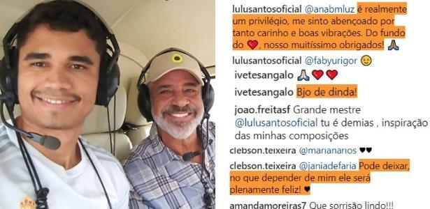 Resultado de imagem para Lulu Santos assume relacionamento com rapaz 39 anos mais novo
