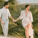 Camila Queiroz e Klebber Toledo: Veja fotos do ensaio pré-wedding do casal - Reprodução/Instagram
