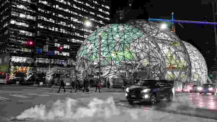 Sede da Amazon em Seattle - Getty Images