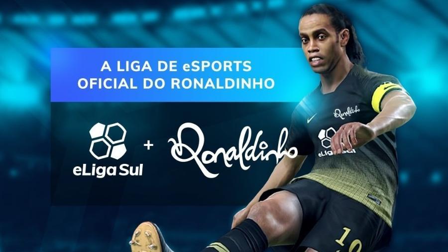 b7736b1f3 Ronaldinho anuncia seu próprio torneio de eSports de