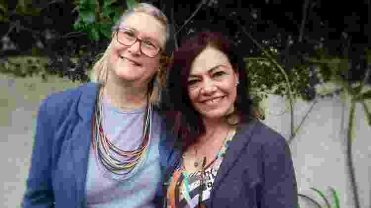 Marta Monteiro e Veronique Forat desenvolveram juntas plataforma voltada para o mercado da moradia - BBC