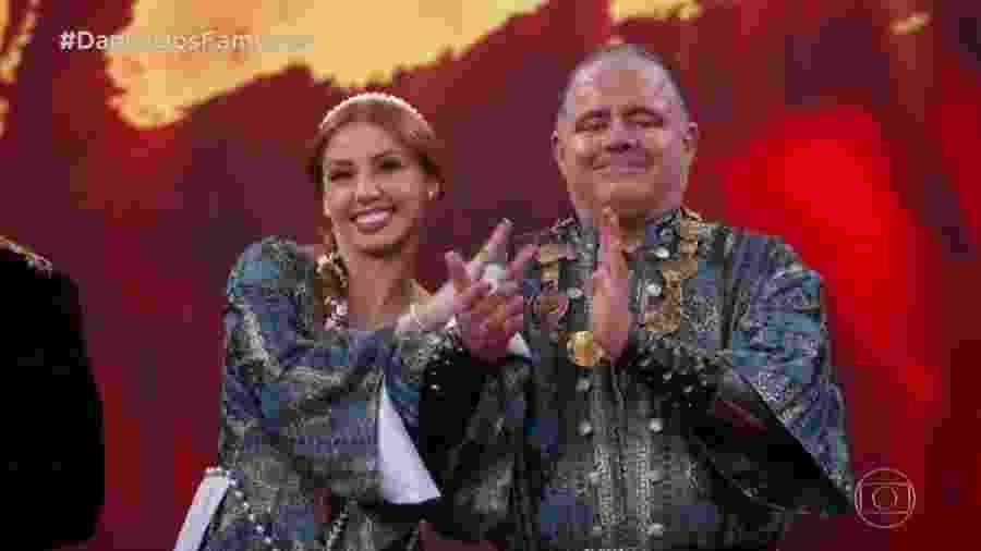 """Leo Jaime e Larissa Parison, campeões da """"Dança dos Famosos"""" 2018 - Reprodução/TV Globo"""