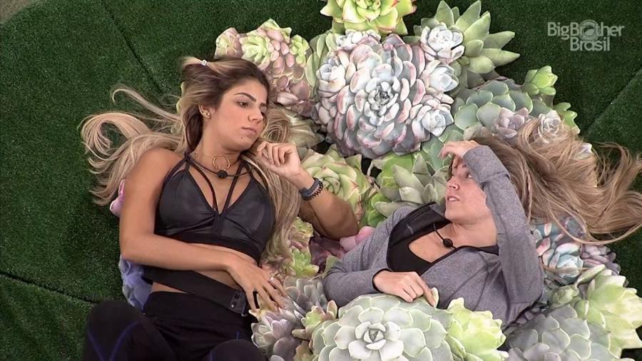 Hariany e Paula conversam sobre Hana - Reprodução/TvGlobo