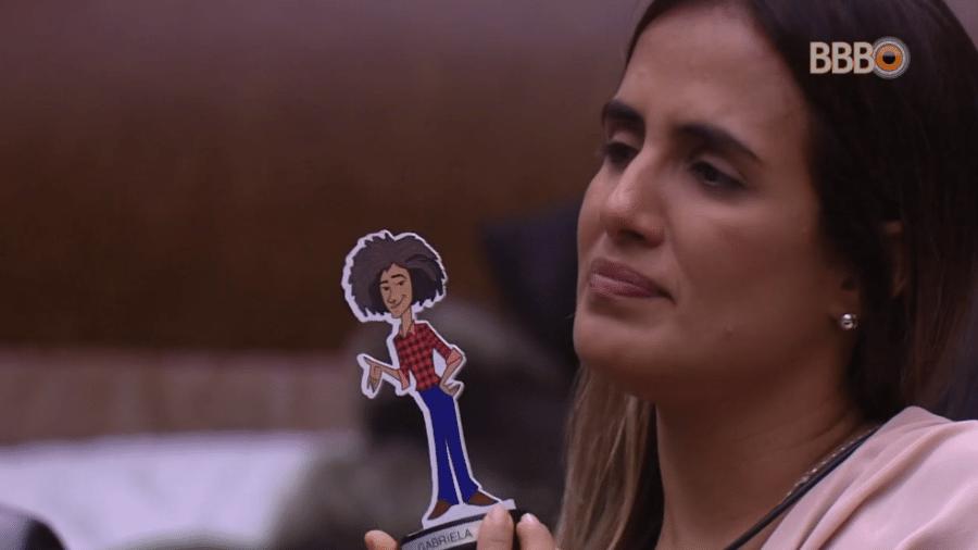 Carolina elogia Gabriela - Reprodução/GloboPlay