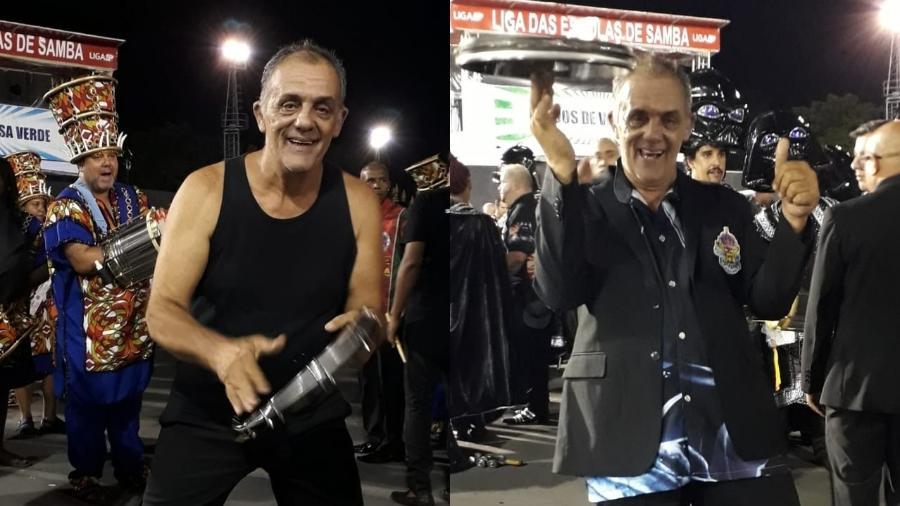 Francisco Trugillo correu para desfilar pela Pérola Negra e Império da Casa Verde - Paulo Pacheco / UOL