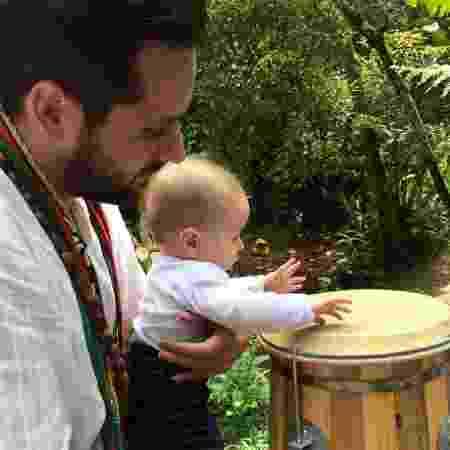 Bruno Acioli, 33, cresceu e foi batizado na umbanda e criou o próprio terreiro - Arquivo Pessoal