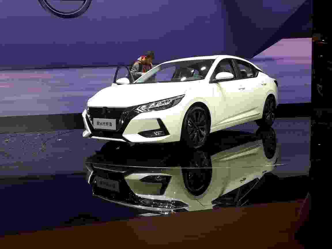 Novo Nissan Sentra 2020 Salão de Xangai 2019 - Vitor Matsubara/UOL