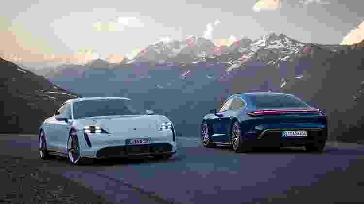 Porsche Taycan - Divulgação/Porsche - Divulgação/Porsche