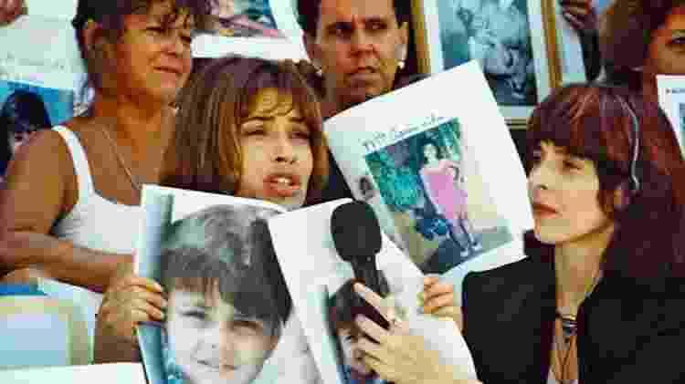 Cena da novela Explode Coração (1995-1996), de Gloria Perez, que tratou do tema do desaparecimento - Divulgação/Globo