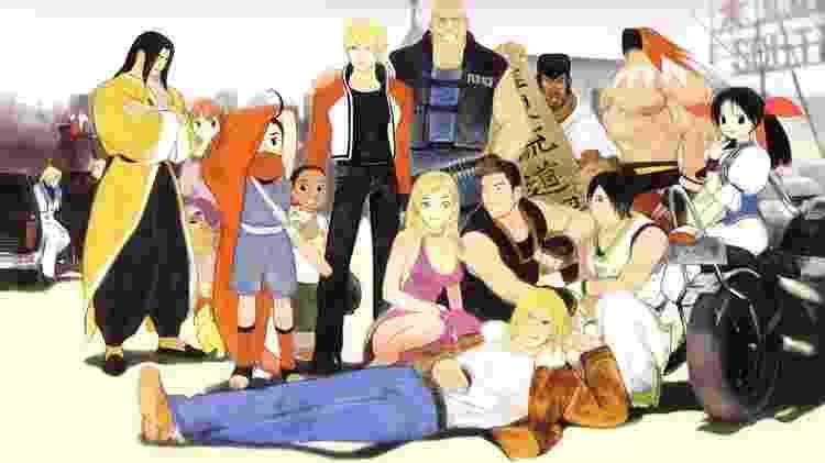 Dos personagens de Garou, somente Terry Bogard retornava de Fatal Fury - Reprodução