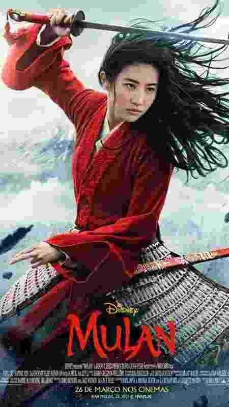 Novo pôster de Mulan, filme que chega em 2020 - Divulgação