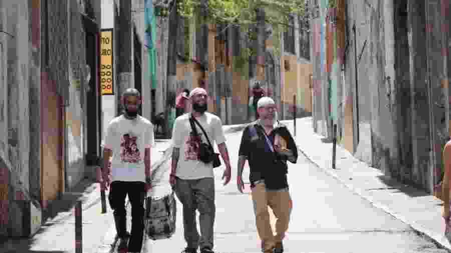 Os muçulmanos da periferia de São Paulo passaram por várias cidades, entre elas, Salvador, Belo Horizonte, Recife e Aracaju - Arquivo Pessoal