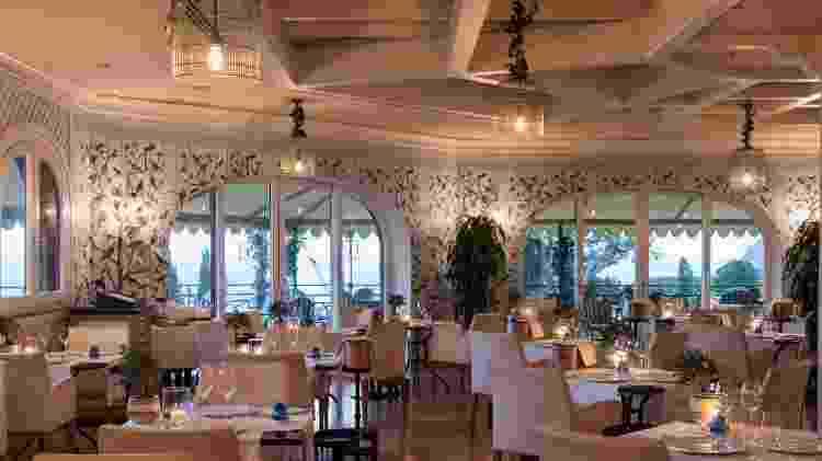 Ambiente do restaurante no Hotel Il Pellicano - Reprodução/Trip Advisor