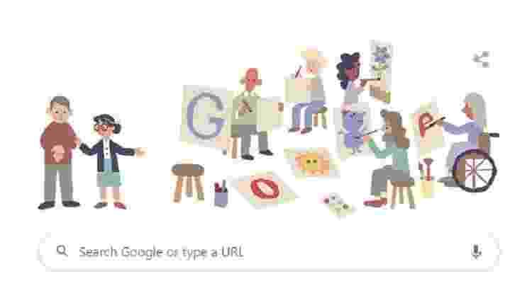 doodle nise - Reprodução/Google - Reprodução/Google