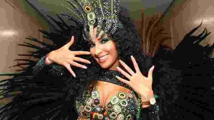Jacqueline Mercedes, Imperatriz de Bateria da Barroca Zona Sul - Iwi Onodera/UOL