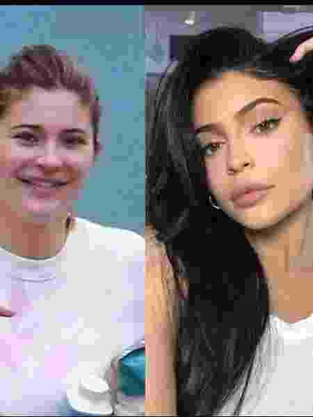 Kylie Jenner sem maquiagem: flagra caiu nas redes - Reprodução/Twitter
