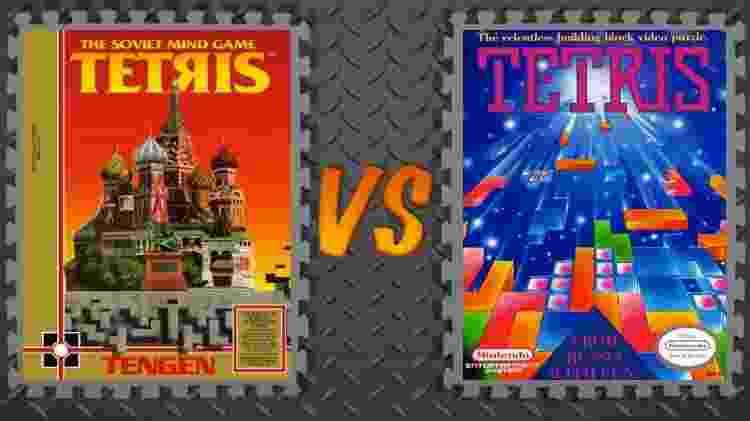 Nintendo, Atari e Tengen - Divulgação/AliensStudios - Divulgação/AliensStudios