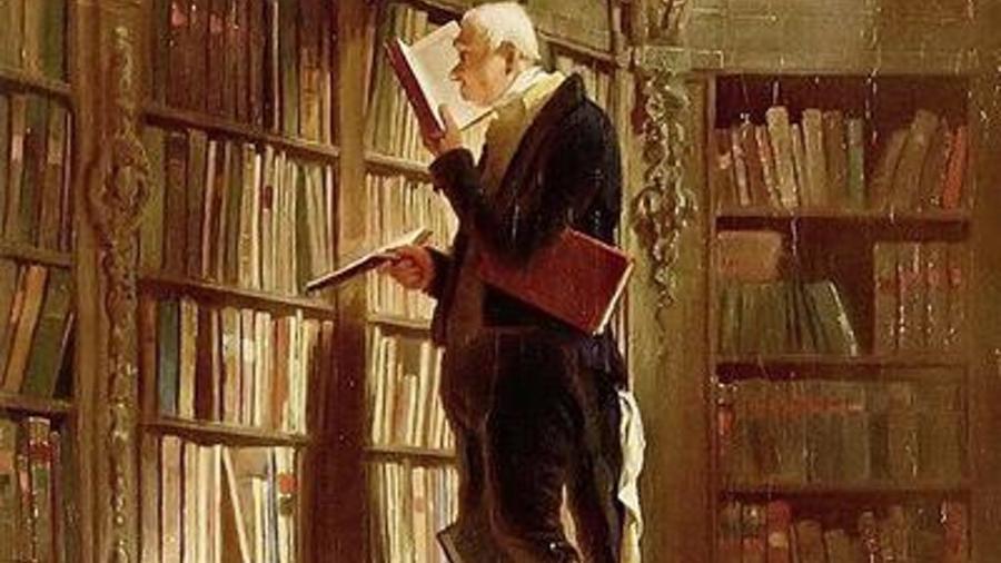 """O Rato de Biblioteca"" - Carl Spitzweg"