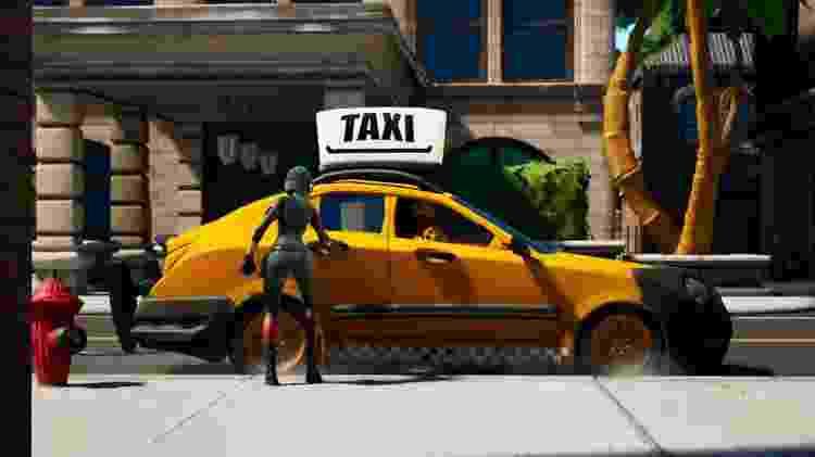 fortnite_taxi2 - Divulgação/EpicGames - Divulgação/EpicGames