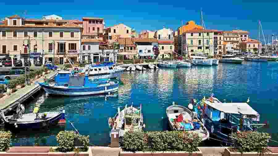 La Maddalena, na Sardenha - Getty Images