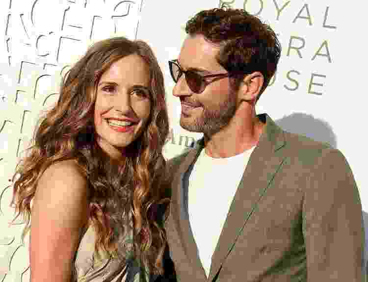 10.07.2019 - Meaghan Oppenheimer e Tom Ellis em evento em Beverly Hills (EUA) - Gregg DeGuire/Getty Images - Gregg DeGuire/Getty Images