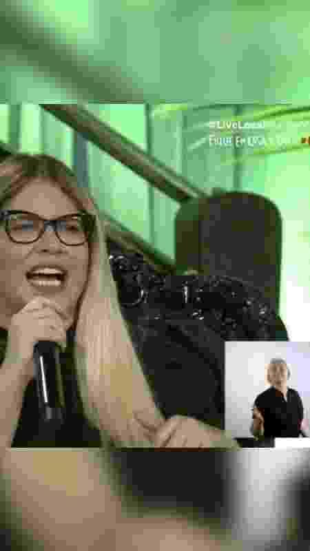 live marilia libras - reprodução/YouTube Marília Mendonça - reprodução/YouTube Marília Mendonça