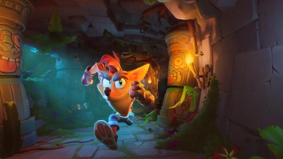 Crash Bandicoot 4 já é um dos games mais difíceis de se completar com todos os colecionáveis - Divulgação/Sony