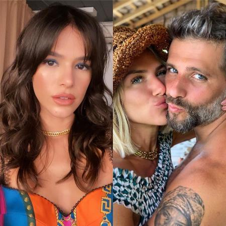Bruna Marquezine brinca com Bruno Gagliasso e Giovanna Ewbank - Reprodução / Instagram