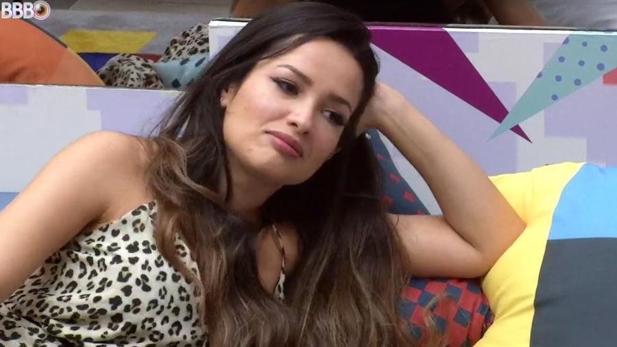 BBB 21: Juliette conversa com Gilberto na sala  - Reprodução/ Globoplay
