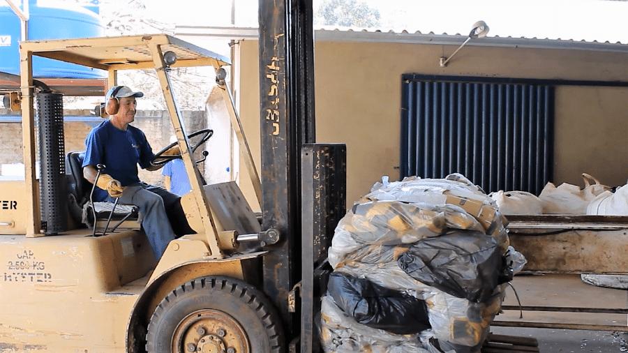 Programa de reciclagem de esponjas coleta 2 milhões de unidades  - Divulgação