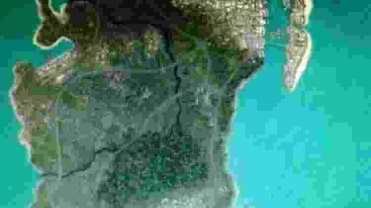 Suposto mapa vazado de GTA 6 - Reprodução/4chan - Reprodução/4chan