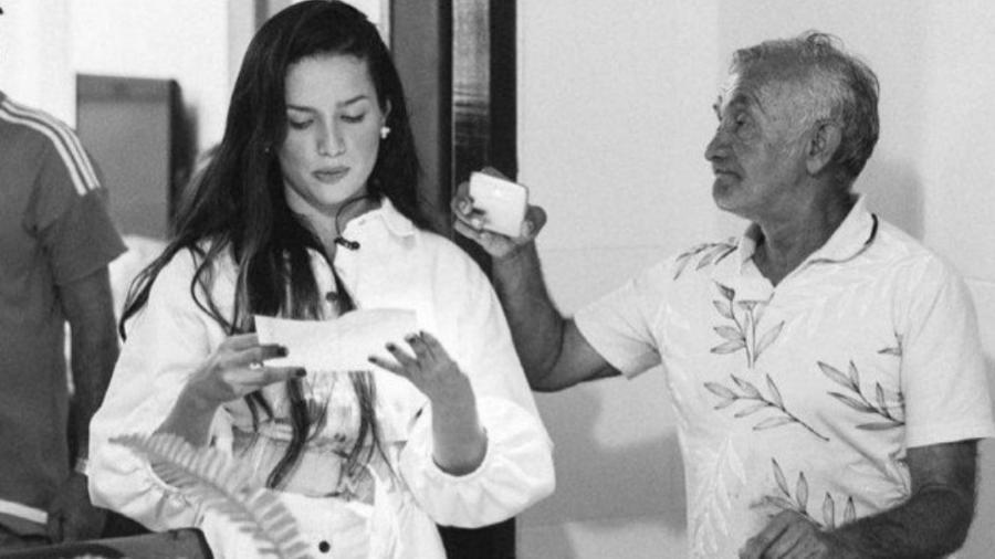 Juliette e o pai, Lourival Feitosa - Reprodução/Instagram
