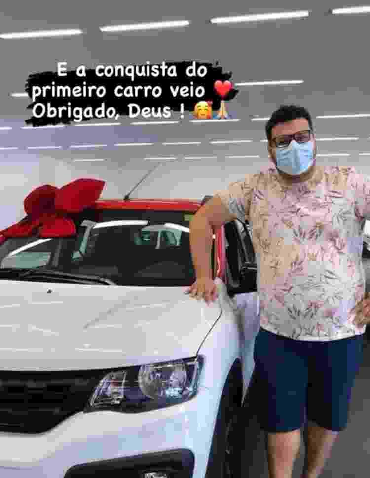 Victor Hugo, do BBB20, compra seu primeiro carro - Reprodução/Instagram - Reprodução/Instagram